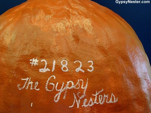 We added layer #21,823 to The World's Largest Ball of Paint!
