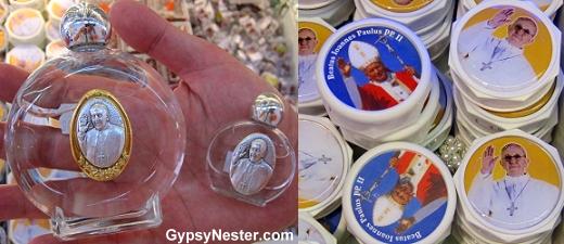 Pope souvenirs