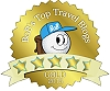 GypsyNesters won gold in the Top Travel Blogs!