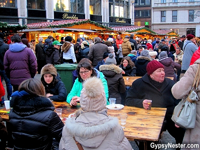 The Christmas Market in Budapest, Hungary