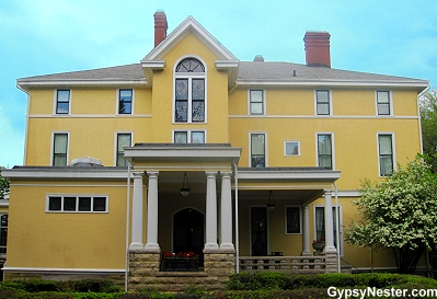 The Deere-Wiman House in Moline Illinois