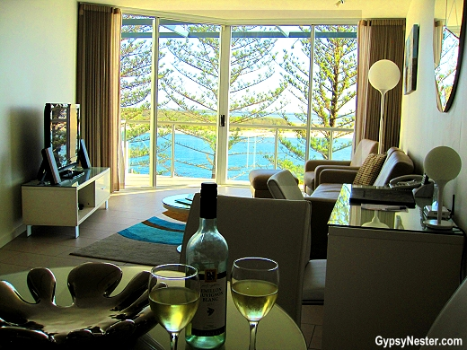 Suite at the Rumba Beach Resort in Caloundra, Queensland, Australia