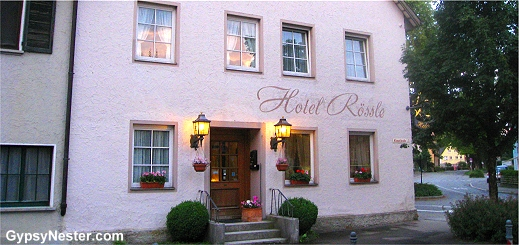 Our lovely, affordable hotel in Wangen, Germany