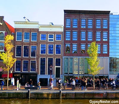 The Anne Frank House in Amsterdam, Holland