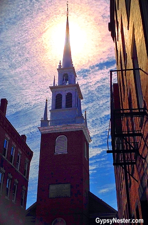 The Old North Church in Boston