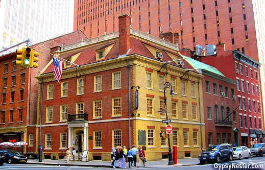 Fraunces Tavern in Manhattan, NYC - the city's oldest building