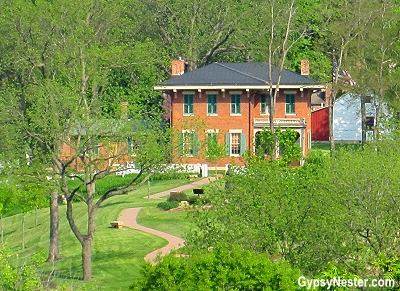 The home of Ulysses S. Grant in Galena, Illinois