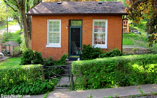 A lead miner's home in Galena Illinois