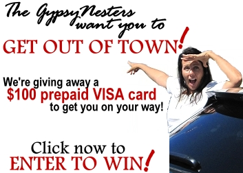 Click to Win a $100 Prepaid Visa from GypsyNester.com!