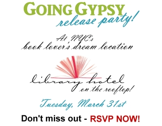Going Gypsy Book Release Party!