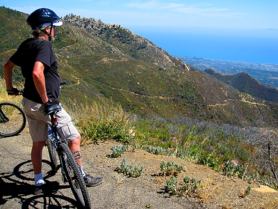 Biking in The Santa Ynez Mountains