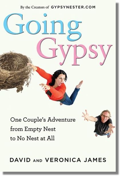 Going Gypsy and the Story of its Cover (you may judge the book by it)! | GypsyNester | Celebrating Life After Kids ™