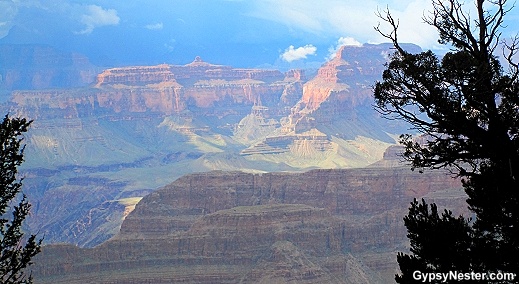 Surreal view of the Grand Canyon