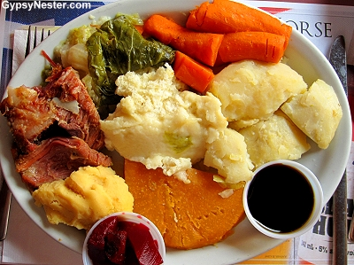 Jiggs Dinner in Newfoundland