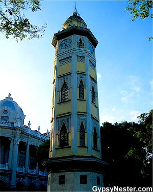 Torre Morisca, or Moorish Tower in Guayaquil Ecuador