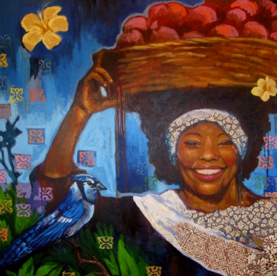 Gullah art at the Coastal Discovery Museum in Hilton Head