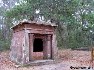 Mausoleum at the Chapel of Ease