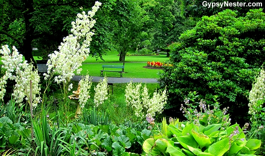 The Public Gardens in Halifax, Nova Scotia, Canada