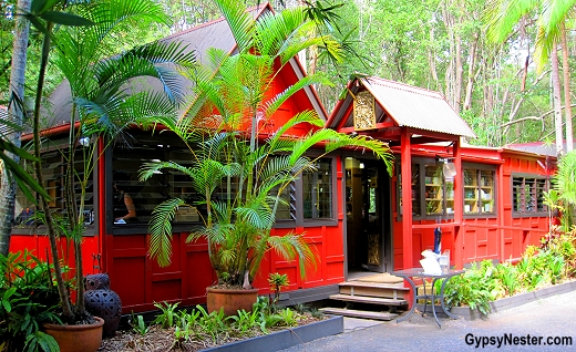 The Spirit House Cooking School in the Hinterlands of Queensland Australia