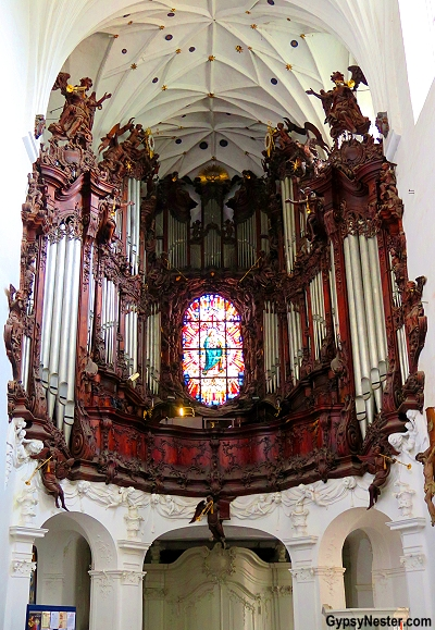 The Oliwa organ in Gdynia at the Archcathedral in Poland