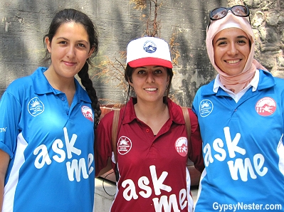 The 'ask me' program in Istanbul, Turkey