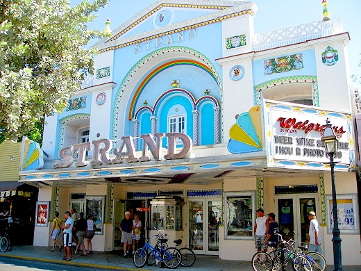 The Strand Theatre in Key West, Florida