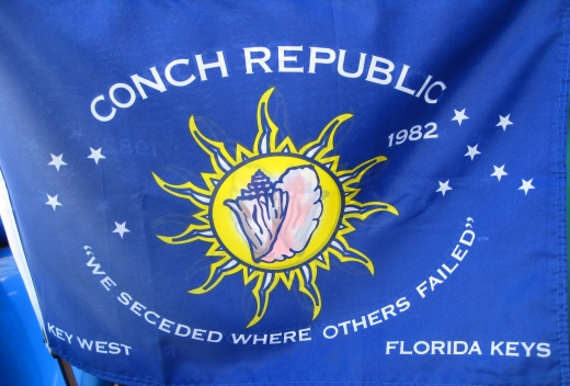 The Flag of the Conch Republic, Key West