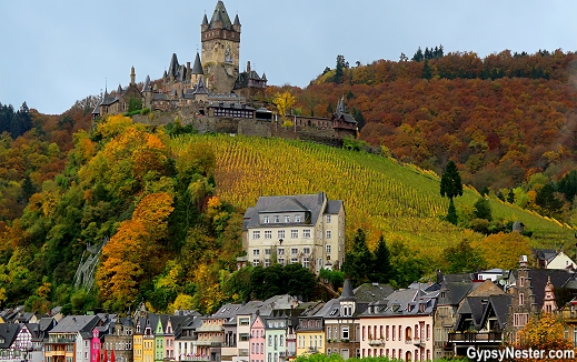 The Reichsburg Castle at Cochem, Germany