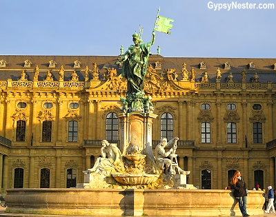 Würzburg Residenz, an over-the-top opulent palace commissioned by two prince-bishops, the brothers Johann Philipp Franz and Friedrich Karl von Schönborn