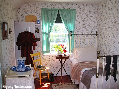 Anne's bedroom in Green Gables