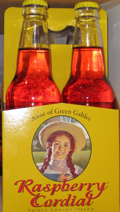 Anne of Green Gables Raspberry Cordial, made in Prince Edward Island