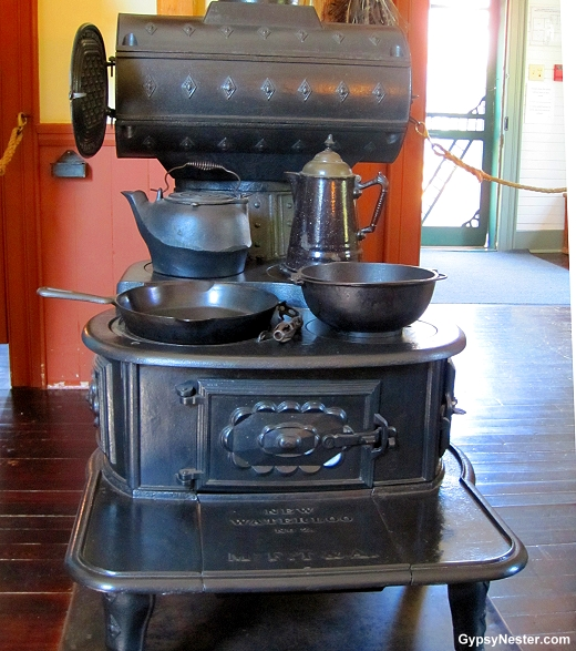 The cooking stove at Green Gables, Prince Edward Island