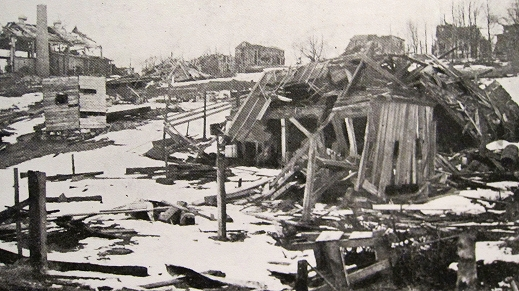 The Halifax Explosion was the largest ever until the atom bomb