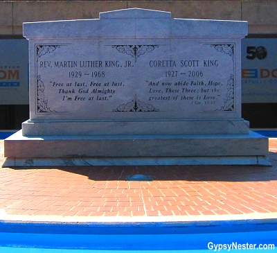 Gravesite at Martin Luther King, Jr. Center for Nonviolent Change