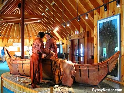 Beothuk Interpretation Centre Provincial Historic Site in Newfoundland, Canada