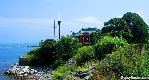 Alva Vanderbilt's Chinese Tea House in Newport, Rhode Island