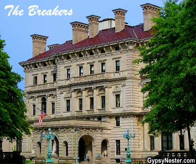 Vanderbilt's The Breakers in Newport, Rhode Island