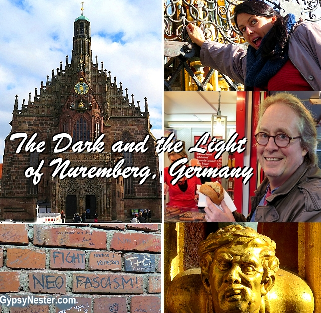 The dark and the light side of Nuremberg, Germany