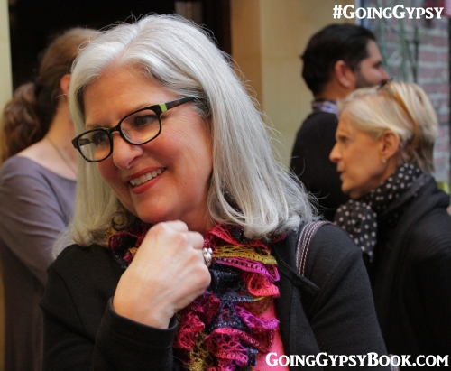 Janet Neal of the Superb Woman joined the crowd at the Going Gypsy book release party at the Library Hotel in Manhattan! http://www.goinggypsybook.com