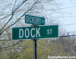Crossroads of Dickory & Dock, New Orleans, Louisiana