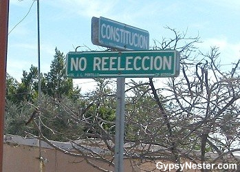 No Reeleccion Street, Rocky Point, Mexico