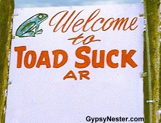 Toad Suck Arkansas
