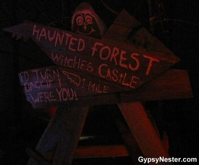 The Haunted Forest at The Oz Museum in Wamego, Kansas