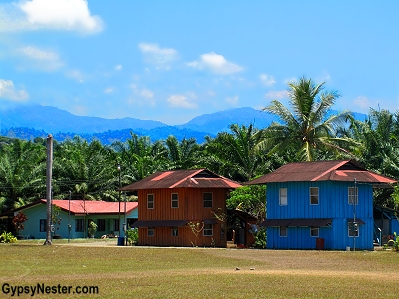 Housing at the Palma Tica Plantation near Quepos, Costa Rica