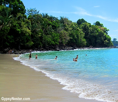 The beach near Parador Resort and Spa in Costa Rica
