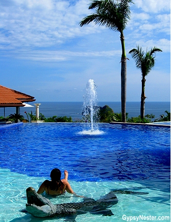 The main pool at Parador Resort and Spa in Costa Rica