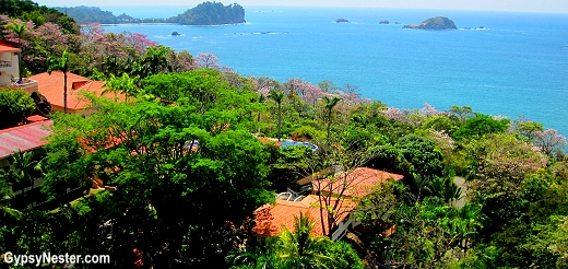 View from our balcony at Parador Resort and Spa, Manuel Antonio, Costa Rica