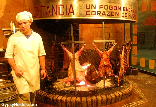 A parrilla in Buenos Aires, Argentina