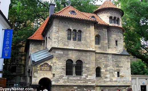 The Jewish Quarter in Prague, Czech Republic