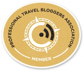 Professional Travel Blogger Association Member
